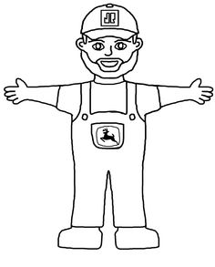 Flat Joe- color yourself!  Color and take a picture, email picture to flatjoe@jamesriverequipment.com  OR visit www.dontknowwhereisjoe.com for more info! Help John Deere Joe support the Special Olympics...