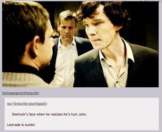 Okay, I don\'t get this kind of thing, so if someone could explain to me just how Sherlock hurt John, that\'d be awesome.