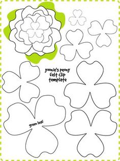 Moldes pinterest microsoft publisher flowers and button hole i saw this on the nate berkus show create these flowers then stick them on a canvas painted in a solid color instant wall art mightylinksfo