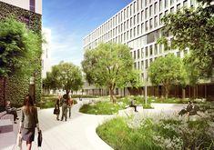 Das VIERTEL ZWEI ist seit seiner Fertigstellung 2009/2010 eines der erfolgreichsten Wohnprojekte Wiens und ein Beispiel für ideale Arbeits- und Lebensqualität.Heute leben und arbeiten hier mehr als 4.500 Menschen und genießen den 5.000 m² großen See sowie über 13.500 m² Grün- und Freiräume.Nun erweitert das grüne Viertel seine Flächen an der Wiener Trabrennbahn mit dem VIERTEL ZWEI Plus.In direkter Nähe zum Grünen Prater entstehen neue Büroflächen und innovative Wohnprojekte. WES entwickeln…