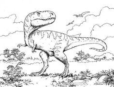 Kolorowanki- dinozaury