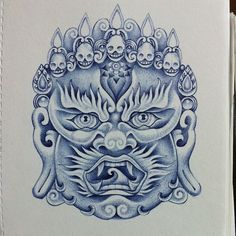 balinese barong mask by on deviantart bali pinterest balinese. Black Bedroom Furniture Sets. Home Design Ideas