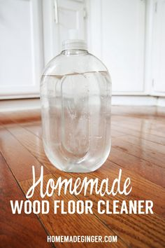 Homemade Wood Floor Cleaner 2 TBS White Vinegar 2 Cups Water 10 Drops Essential oil (optional)