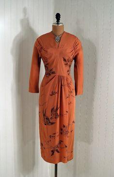1940s dress via Timeless Vixen Vintage
