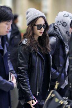 korean airport fashion and casual wear