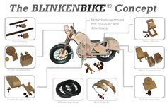 The Blinkenbike Concept – Blinkenberg CPH Build A Bike, Go Your Own Way, Natural Curiosities, Balance Bike, Cnc Projects, Pedal Cars, Wood Toys, Danish Design, Kids House