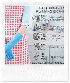Metodo Casa Organizzata: come organizzarsi con il planning giornaliero