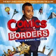 Russell Peters Hosts: Comics Without Borders [Explicit] Russell Peters, Without Borders, Good Jokes, Various Artists, Comedians, Comics, Cartoons, Comic, Comics And Cartoons