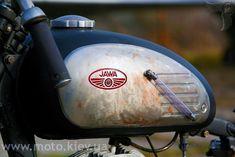 1963 jawa 250cc bobber fuel tank | cranberry
