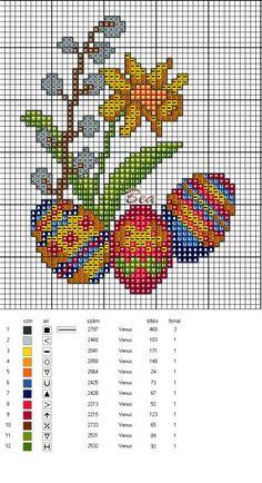 Sei interessata a realizzare qualche disegno a crocette per pasqua? guarda questa raccolta di schemi punto croce, sono certa troverai quello che cerchi e ti consentirà di colorare la tua casa con un tocco di originalità.