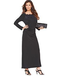Jersey and Lace Maxi Dress, http://www.isme.com/berkertex-jersey-and-lace-maxi-dress/1307353168.prd