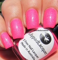 Lilypad Lacquer Bubblegum Fizz
