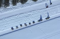 IDITAROD FROM THE AIR: See photos of the 2017 ceremonial start from above