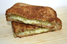 The Garden Grazer: Grilled Cheese with Pesto