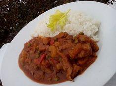Hořčicové plátky se zeleninou a hlívou Mashed Potatoes, Grains, Tacos, Beef, Ethnic Recipes, Food, Whipped Potatoes, Meat, Smash Potatoes