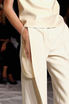 Translucent exterior trouser pocket - fashion design, garment details // maison martin margiela ss13