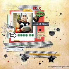 #papercraft #scrapbook #layout    ashleyhorton