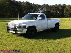 Dodge Dually, mine was a 2wd 5spd 12v single cab