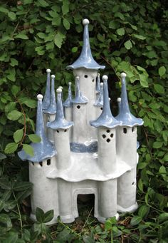 Elfin Castle of Many Turrets by ClaySoul on Etsy, $250.00