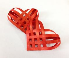 A Pair of Red Ash Hearts FREE SHIPPING by Baskauta27 on Etsy, $24.00