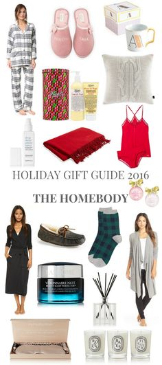 HOLIDAY GIFT GUIDE 2016 THE HOMEBODY // Shoegal Out In The World