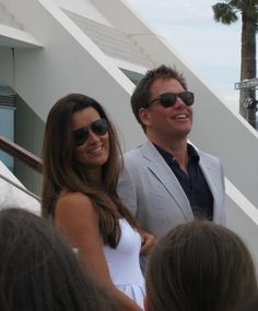 Michael Weatherly and Cote de Pablo of NCIS at the 50th Anniversary of The Monte-Carlo Television Festival ~ June 9, 2010