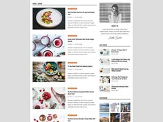 Dosis WordPress Theme Magazine Blog Theme Premade Blog | Etsy Web Themes, Website Themes, Wordpress Template, Wordpress Theme, Blog Layout, Instagram Widget, Magazine Template, Website Template, Templates