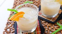 When mid-summer heat hits, it's time for this cool and creamy orange and coconut cocktail.