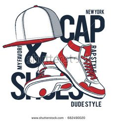 HIP HOP STREET STYLE ELEMENTS VECTOR ILLUSTRATION