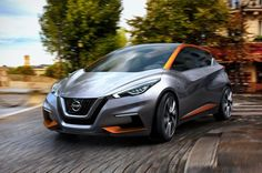 2017 #Nissan #Sway is a compact hatchback that has different impression in several sides.