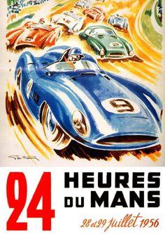 24 Heures du Mans 1956   Geo Ham