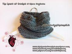The heart of Crochet - Creativity Boom - Scaldacollo fatto a mano all'uncinetto - Neck warm handmade crochet di CreativityBoom su Etsy