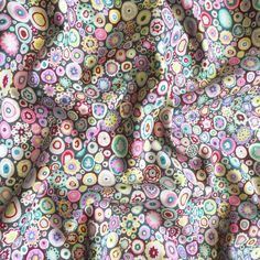 GP20 Grey Paperweight Kaffe Fassett Collective Free Spirit Fabric by MarilynsPatchwork on Etsy https://www.etsy.com/uk/listing/551834148/gp20-grey-paperweight-kaffe-fassett
