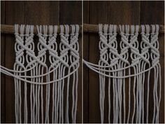 Mobiles, New Business Ideas, Macrame Projects, Macrame Tutorial, Clothes Hanger, Diy And Crafts, Crafty, Sewing, Knitting