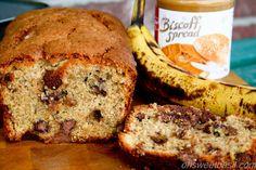 Biscoff Chocolate Chip Banana Bread