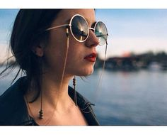 Cora' Eye Glasses chain / sunglasses chain by 77Ss on Etsy
