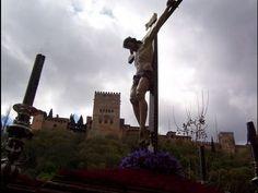Cristo Del Silencio en procesión / Albaicín, Alhambra (Granada-Andalucía)