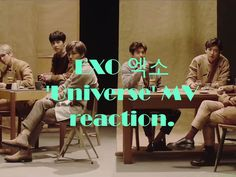 Reaction to Universe MV by EXO.