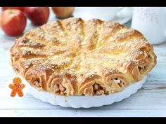 افكار جديدة \ اشكال ستجعلك اميرة مميزفي المطبخ New ideas how to make your pastry Pie Recipes, Dessert Recipes, Bolet, Medvedeva, Russian Recipes, Food Photo, Food Dishes, Apple Pie, Baked Goods