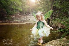 Toddler girls fairy costume by bellabuttonsbowtique on Etsy