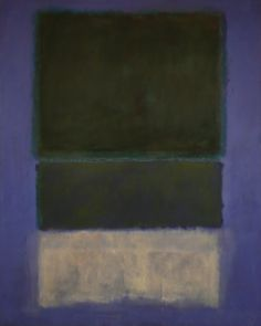 Mark Rothko, No.14 (White and Greens in Blue), 1957