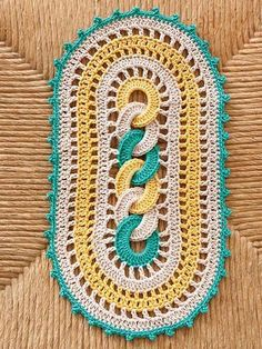 Diy Crafts - Picture of Doilies Crochet Pattern Leaflet Crochet Kitchen, Crochet Home, Crochet Crafts, Crochet Baby, Crochet Projects, Knit Crochet, Diy Crafts, Thread Crochet, Filet Crochet