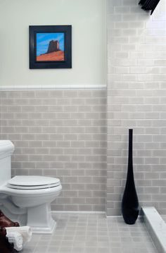 For Backsplash Ann Sacks Capriccio X Ceramic Field And In Dove Gloss Liner Molding Quarter Round White Designer Laura