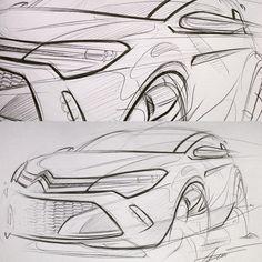 5min lunch sketch #sketch #design #cardesign #transportation #product…