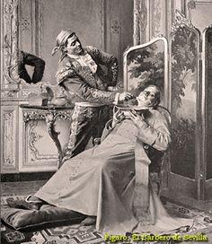 Barber's History.  Barber of Seville