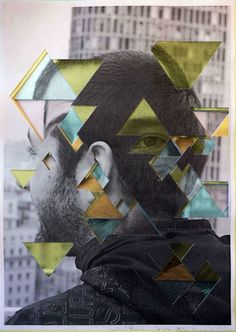 Abstract Portrait- Lucas Simões, I admire the collage and layering of images to build up the portrait, It shows a modern style and the use of city buildings really adds to the character of the portrait Photography Collage, Mixed Media Photography, Abstract Photography, Collages, Collage Art, Photomontage, Portraits Cubistes, Lucas Simoes, A Level Art