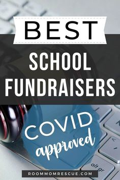 School fundraising during COVID is possible! Use these 2 websites to create lucrative PTA fundraising ideas for elementary, high school and middle school. Taking your elementary school fundraiser online can make raising money for your school, PTA or PTO easy and fun. Learn more at roommomrescue.com #schoolfundraisingideas #schoolfundraisingideaselementary #schoolfundraisingideashigh