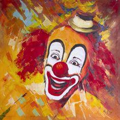 peinture clown - Recherche Google