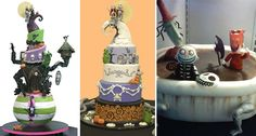 tim burton - I will have the middle one as my wedding cake...