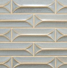 Gorgeous dimensional tile from Ann Sacks